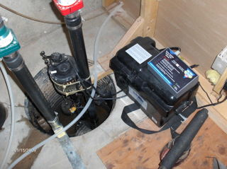 Glamorous Sump Pump Installation