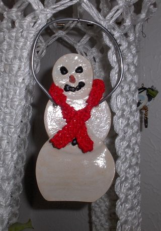 Snow Doll with Scarf