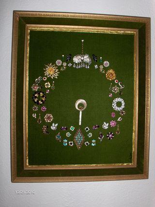 Costume Jewelry Wreath