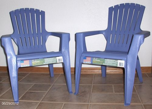 Chairs for great-grandkids