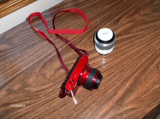 Nikon 1 with extra lens