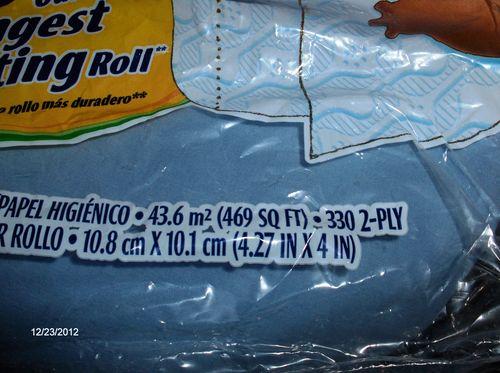 330 sheets per roll