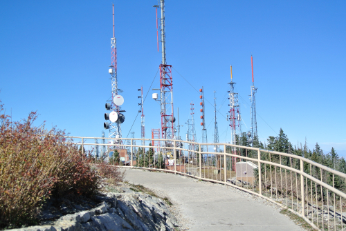Antenna Farm atop Sandia Crest
