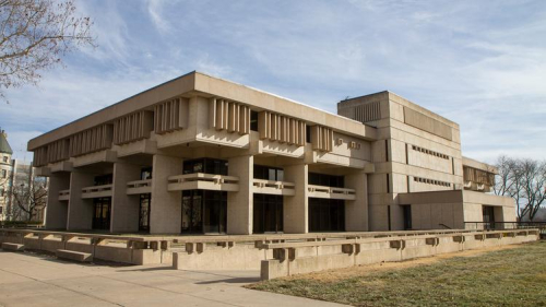 Wichita Public Library - Downtown - looking southeast