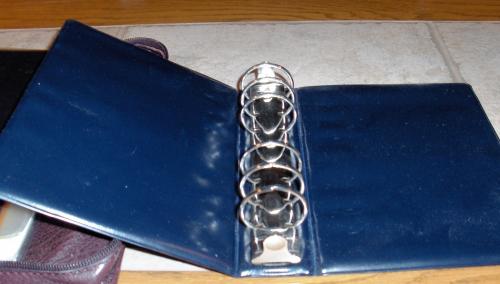6-ring Binder