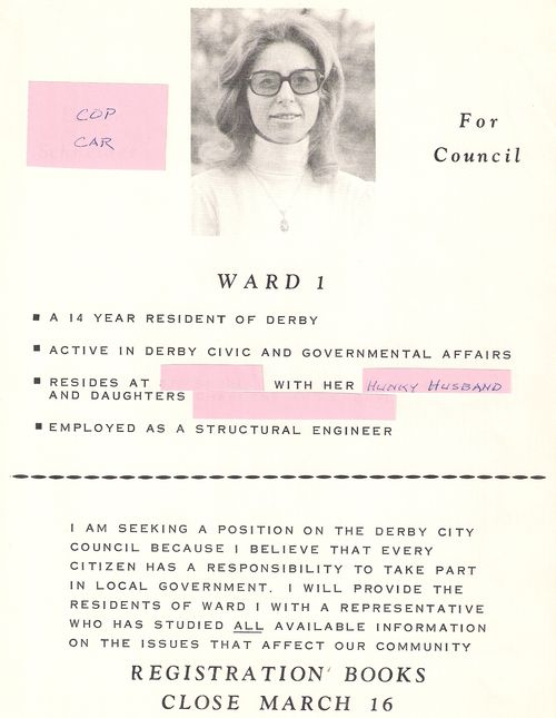 Campaign Flyer 1976
