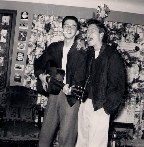 HH & Nate - 1955