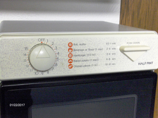 Simple Microwave Controls 2017Jan2