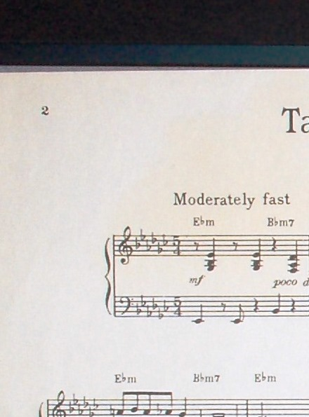 Take 5 Sheet Music