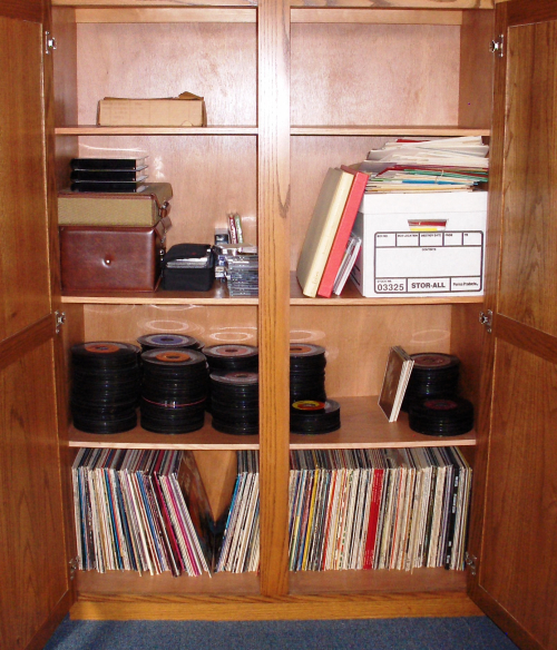 Record Stash slightly diminished after Wichidude's first visit