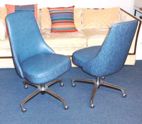 Breakfast Bar Chairs Reupholstered 2018Aug23