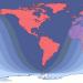 Total Lunar Eclipse path 2019Jan20&21