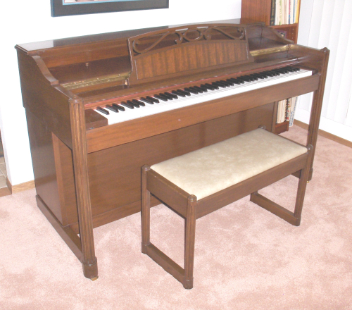 Acrosonic by Baldwin piano in family since about 1948 - 1 - 2019Jun9