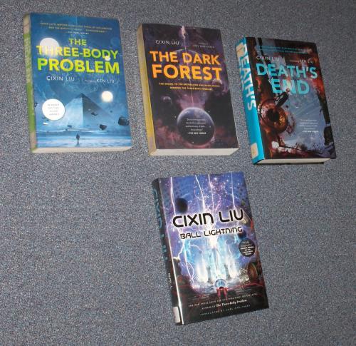 Cixin Liu books