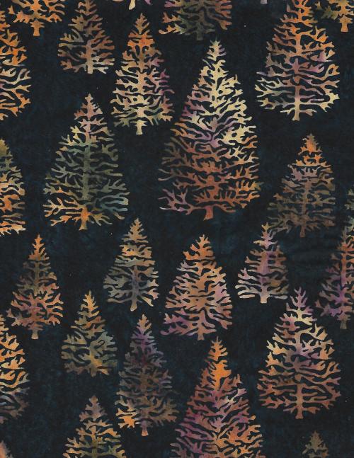 Trees Batik - unidirectional