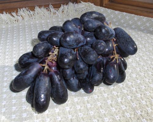 2020Jan31 Black Grapes from Peru