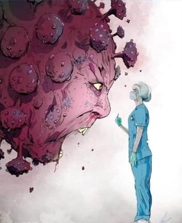 Nurse to Coronavirus