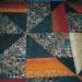 Buffy's Batik Quilt - Closeup