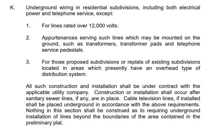 Derby Subdivision Regulation Article 7