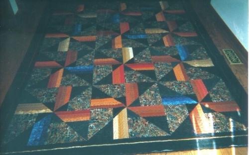 Buffy's Batik Quilt